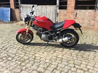 Ducati monster m600 full history swap px