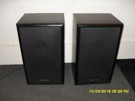 Pair of Technics speakers- Model SB-F911