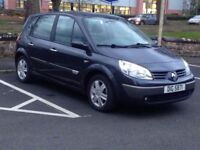 RENAULT SCENIC 1.4 DYNAMIC 2006**£799**LOW MILES*MANUAL*GREY*PX WELCOME*DELIVERY