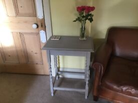 Vintage barley twist side table