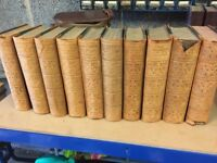 A very old set of books