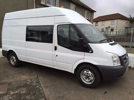 2011 Ford Transit 350 LWB Hi Top Crew Van 115 HP