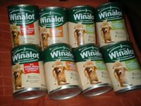 winalot 8 tins of adult dog foog
