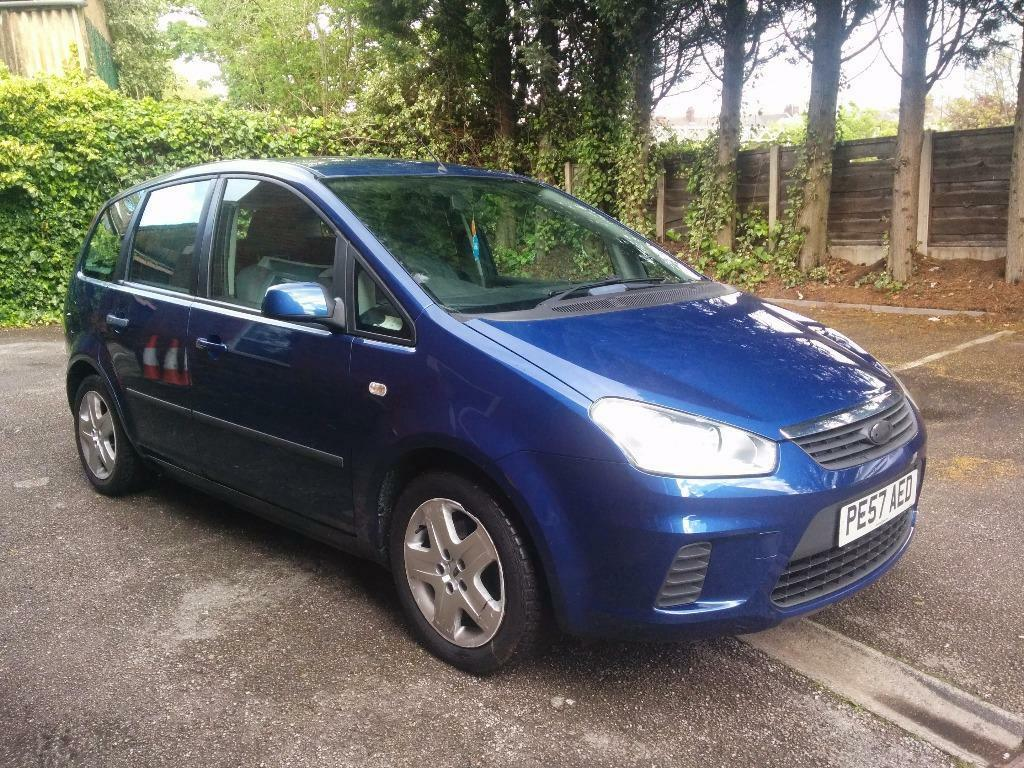 2007 ford c max style blue 1 6 petrol a great smooth drive 126k genuine miles great car. Black Bedroom Furniture Sets. Home Design Ideas
