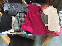 Girls clothes age 5-7