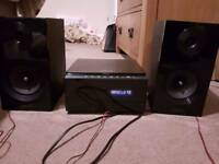 Samsung dvd micro hifi home cinema mm-e460d