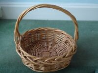 Large Wicker Basket Excellent Condition