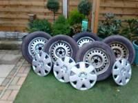 """15""""steel wheels"""