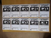 Gift Vouchers for Dr Who/Star Wars/Marvel/DC/Lego/Comics/Collectibles @ Forbidden Planet Stores