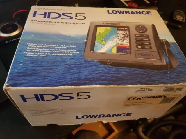 Lowrance HDS5 Fish finder + GPS | in Brechin, Angus | Gumtree