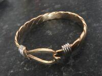 9ct gold bangle Gucci type