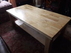 Solid wood Coffee table for sale.