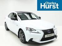 Lexus IS 300H F SPORT (white) 2015-06-25