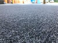 Used grey carpet tiles (aprx 250) 40pea