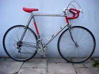 Mens Road/ Racer Bike by Giant, Silver & Black,Great Original Condition,JUST SERVICED/ CHEAP PRICE!!