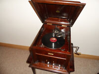 Celeste Gramophone; Including Fats Waller;78's,Boxed Spare Needles