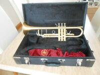 John Packer satin finish trumpet only 12 months old