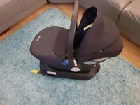 Silver Cross Simplicity Baby Car Seat - Black