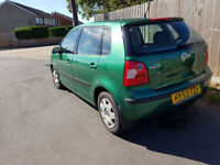 VW Polo 1.4 Automatic - clean example of a great little car - super reliable.