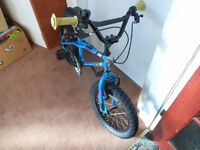 NICE APOLLO 38 ACE CHILDS BIKE SERVICED AGE 3 TO 5