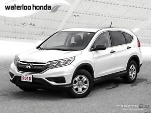 2015 Honda CR-V LX Sold Pending Delivery...160,000 km Warrant...