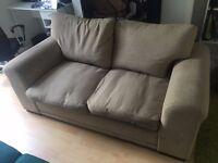 FREE two seater fabric sofa