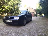 VW Golf S 11 Months MOT Quick sale needed!