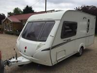2008 ABBEY GTS 215 2 BERTH TOURING CARAVAN WITH NEW AWNING