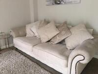Beige sofa from DFS