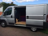 2008 Peugeot Camper van conversion