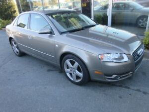 2006 Audi A4 3.2 QUATTRO AWD W/ LEATHER & MOONROOF