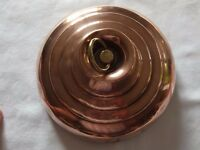 Antique copper bed / foot warmer