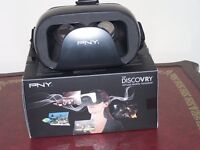 """The """"DISCOVRY"""" Virtual Reality Headset, for smart phones"""