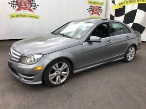 2012 Mercedes-Benz C-Class 300, Automatic, Leather, Sunroof, AWD