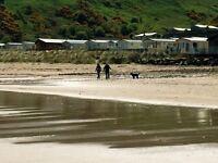 Static caravan for sale next to sandy Beach. Berwick. Edinburgh. Newcastle. Scottish Borders.
