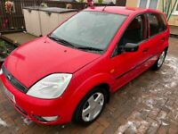 2005 Ford, FIESTA, Hatchback, 2005, Manual, 1388 (cc), 5 doors, FULL YEARS MOT. 6 Service Stamps