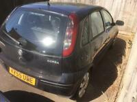 Vauxhall Corsa C 1 litre spares and repairs