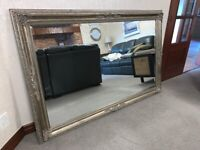 VERY LARGE LOUIS STYLE ANTIQUE EFFECT MIRROR