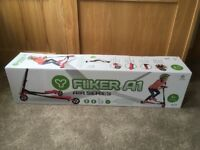 YFliker A1 Air Series scooter-brand new age 5+. In original box. Pink. Never used.