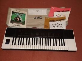JVC ELECTRIC KEYBOARD, MODEL NO KB- 300