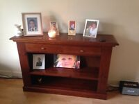 Sideboard unit used as tv stand