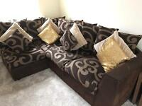 Corner suite sofa immaculate