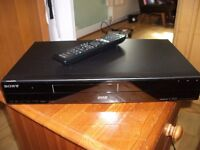 Sony DVD Player, Remote Control and Scart Lead