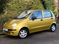 1999 DAEWOO MATIZ SE, 5 DOORS, 0.8 ENGINE, BRAND NEW MOT.
