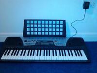 Yamaha PSR-175 electronic keyboard *with* manual, 2 tutorials, and 1 CD