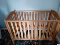Mothercare Takeley Winnie the Pooh cot