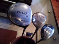 Precision Ridgeback, oversize, right handed, full size, golf set with bag.