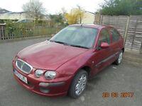 Rover 25 5 Door Hatchback 2003 Reg