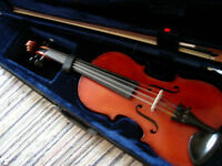 3/4 size violin -good quality early 20th century German violin -valued at £250 -offers?