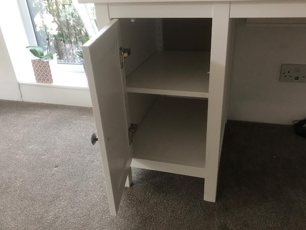 Ikea Hemnes computer desk White stain in Northampton, Northamptonshire Gumtree